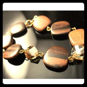 FLASH SALE⭐️Kabuki wood bracelet RLDesigns